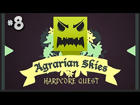 Agrarian Skies a Hardcore Quest - Part 8 - Redstone & A Cat!