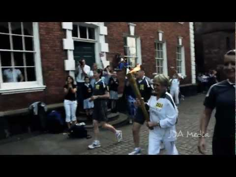 Olympic Torch Relay in Worcester