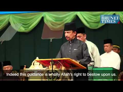 Sultan of Brunei Announces Implementation of Sharia Law - Brunei Times