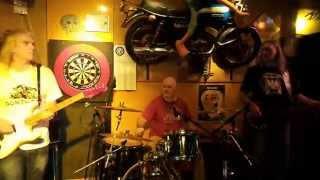 Tony Dowlers Hellhounds live @ Gonzobar Tegelen