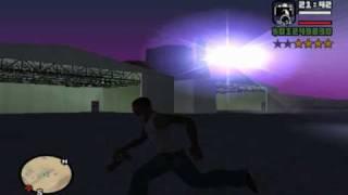 GTA San Andreas//CJ Raptado Por Un Ovni,100% Real