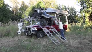 Awesome Overhang Loading System For Your Truck