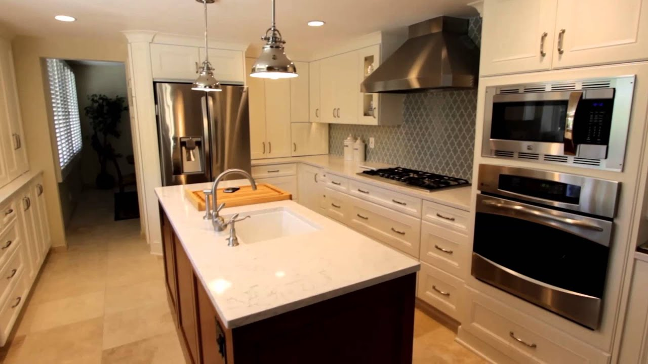 Kitchen Bathroom Bar Remodel With Cambria Quartz Countertop In Anaheim Hills Orange County