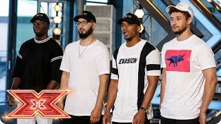 The Judges are feeling Rak-Su's first Audition | Auditions Week 1 | The X Factor 2017