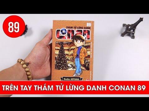 Review Thám tử lừng danh Conan tập 89 - Manga Unboxing