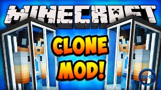 Minecraft Mods CLONE MACHINE (EXTRA LIVES)! Minecraft