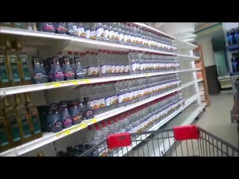 Escasez en supermercado de Venezuela
