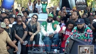 Rick Ross: Box Chevy [BTS]