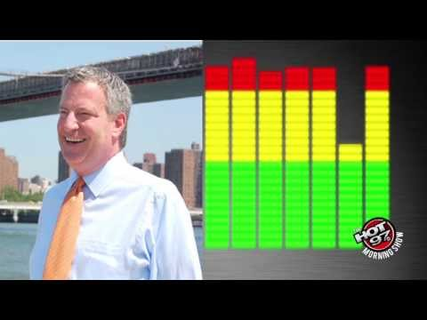 Bill de Blasio calls the morning show and clear up false rumors