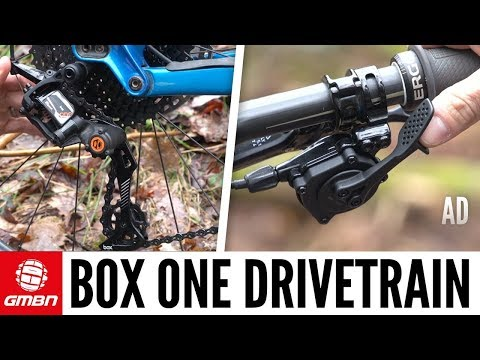 Box Components One Drivetrain | GMBN's First Ride
