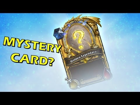 Hearthstone - Blizzcon 2017 Mystery Card?