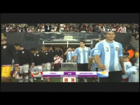 Peru vs Argentina 1-1 Eliminatorias. 2012. PARTIDO COMPLETO.