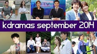 Top 5 New Korean Dramas Of September 2014 GIVEAWAY!