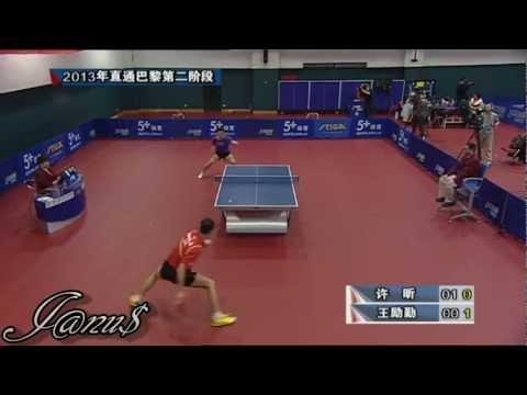 2013 China Trials for WTTC: XU Xin - WANG Liqin [HD] [Full Match/Short Form]