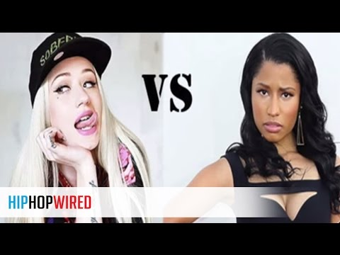 Nicki Minaj Throws Shade at Iggy Azalea