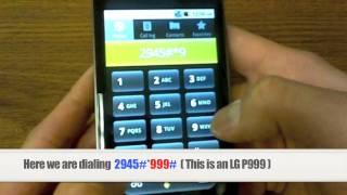 Unlock LG How To Unlock Any LG Phone By Unlock Code