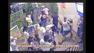 Trio de torcedores acusado de tentar matar jovem � absolvido