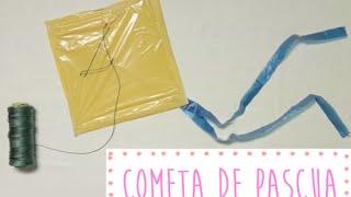 Haz una cometa con una bolsa de plástico