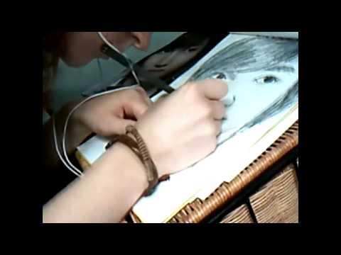 Me Drawing Changmin of TVXQ (DBSK)