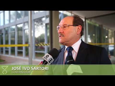 Sartori busca liberação de recursos para conclusão da barragem do Arroio Taquarembó