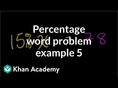Solving Percent Problems 3