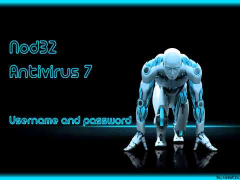 ESET NOD32 Antivirus 7 Username And Password 04-17-2014