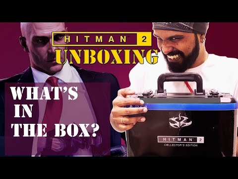 HITMAN 2 COLLECTOR'S EDITION UNBOXING | PS4 PRO | FUNNY | HINDI | INDIAN GAMING CHANNEL
