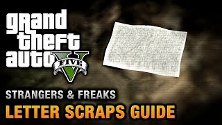 GTA 5 Letter Scraps Location Guide [A Mystery, Solved