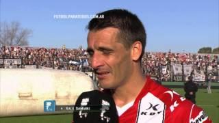 """Damiani: """"Rescato la madurez de los jóvenes"""". Estudiantes 1- Instituto 0. Copa Argentina. 8vos. FPT"""