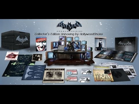 Batman Arkham Origins PS3 Collector's Edition Unboxing Friday October 25th, 2013