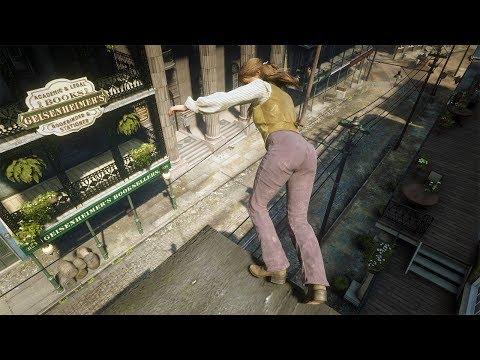 Red Dead Redemption 2 PC 60FPS - Funny & Brutal Moments Vol. 46 (Euphoria Ragdolls)