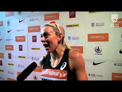 Jenny Meadows  - Sainsbury's British Athletics Birmingham Indoor Grand Prix 800m Women