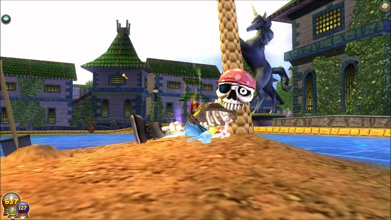 pirate 101 or wizard 101