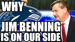 Why Jim Benning Is A Good General Manager For The Vancouver Canucks (The GM's On Our Side!)