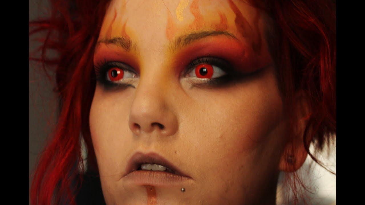 Makeup Ideas fire makeup : Fire Fairy Makeup : www.galleryhip.com - The Hippest Pics