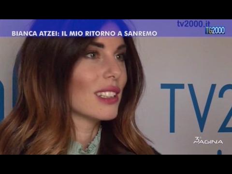 Sanremo 2017: Bianca Atzei, il mio ritorno al Festival