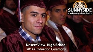 Desert View High Schoool Graduation 2014 VIDEO