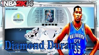 NBA2K14 Xbox One Locker Codes Diamond Kevin Durant