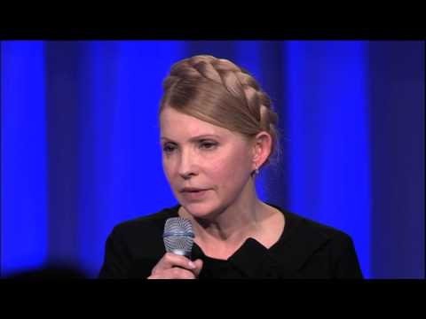 Yulia Tymoshenko speech at the EPP Congress, Dublin