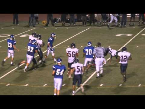 15 Year old Ariel Hercik QB Highlights IHS Varsity 2010