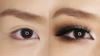 Smokey Eye Makeup for Hooded or Asian Eyes