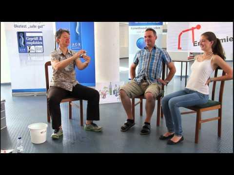 Anatomie: Funktion von Wirbelsäule und Bandscheiben