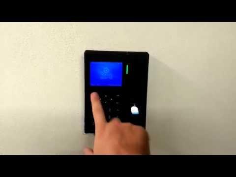 C2-Pro lettore biometrico e card rfid con visualizzazione timbrature pregresse utente