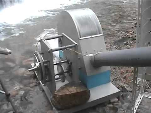 Educational Movie-Small Hydroelectric Generator in Action-AGS-Energy (