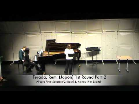 Terada, Remi (Japon) 1st Round Part 2