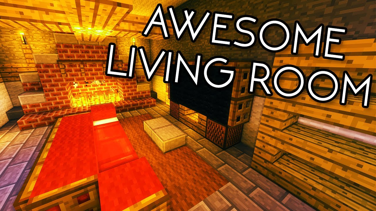 Minecraft tutorials minecraft tutorial 15 how to - How to make a nice living room in minecraft ...