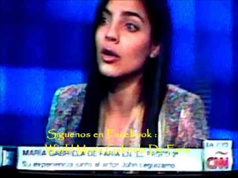 Maria Gabriela De Faria En Showbiz CNN En Español. - YouTube