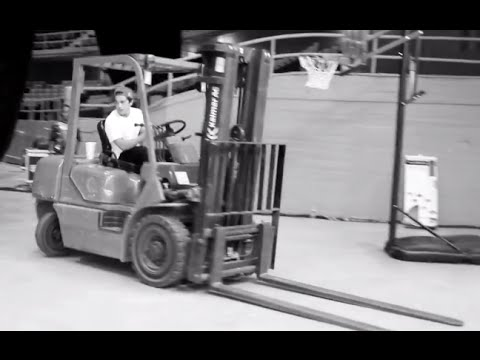 "TourLife Ep 10 Forklift donuts and new sport ""Segway Ball"""