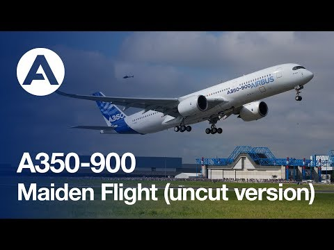 A350 XWB First Flight