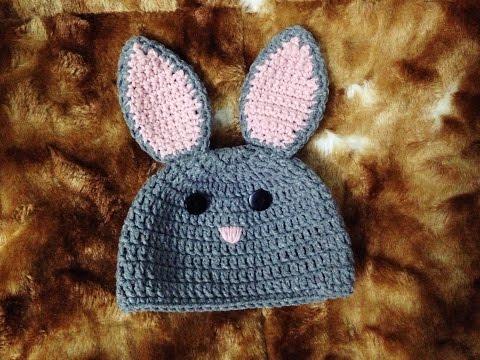 [Crochet] Bunny Hat | Hướng dẫn móc mũ thỏ Bunny cho bé